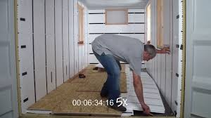 100 Shipping Container Floors InSoFast Floor In Less Than 15 Minutes