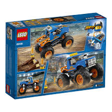 City Great Vehicles - Monster Truck (60180) | Walmart Canada Lego Ideas Lego Monster Truck 2018 Kinderlegofan Pinterest Legos And City Amazoncom 60027 Transporter Toys Games Arena Technic Set 42005 Itructions City Great Vehicles 60055 Energy Baja Recoil Nico71s Creations Custom Trucks 1 X Brick For Set Model Offroad Red 9094 Racers Star Striker Amazoncouk