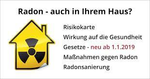 radonmessung und sanierung ab 01 01 2019 neues gesetz