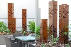 Backyard Garden Sculptures Metal Art Contemporary Landscape Outdoor Nz Wholesale Australia