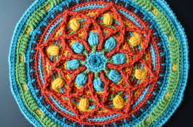 I Think This Overlay Crochet Technique Is The Best For Creating Mandalas Round Rugs Unique Placemats Or Decors Pillowcases