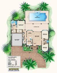 100 Villa Plans And Designs Mediterranean House Plan Small Mediterranean Home Floor Plan