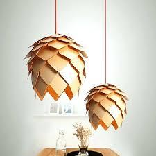 hanging l shades vintage pendant lights wooden l shades for