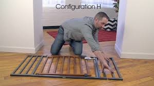 Summer Infant Decor Extra Tall Gate Instructions by How To Install The Summer Infant Decorative Wood U0026 Metal 5 Foot