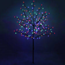 3ft Pre Lit Blossom Christmas Tree by Cherry Blossom Light Tree Led Light Trees Ebay
