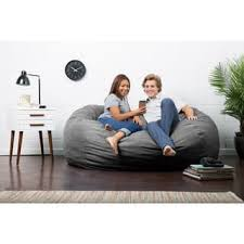Fuf Bean Bag Chair Medium by Size Jumbo Bean Bag Chairs For Less Overstock Com