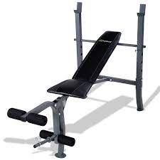 Costway Adjustable Sit Up AB Incline Bench Abdominal Board Flat Fly Weight Press Gym