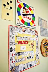Retro Board Game Art Frame The Games And Have Small Boxes With Individual Pieces