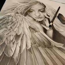 Drawn Angel Face 11