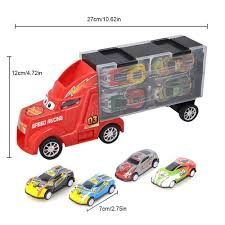 100 Toy Car Carrier Truck WithRitty Transport Rier For Boys And Girls