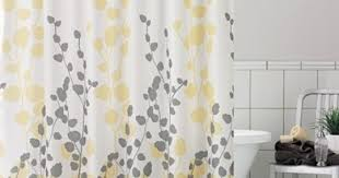 Tahari Home Curtains Yellow by Alluring Shower Curtains Yellow And Gray And Curtain Tahari Luxury