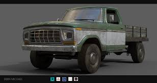 100 Ford Truck Concept Bibin Michael Based On Old Ford Truck