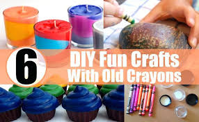 Fun Diy Crafts To Do At Home When Bored 6 Awesome With Broken Or Old Crayons Projects