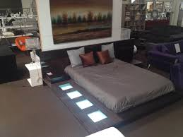 beautiful impera modern contemporary lacquer platform bed with