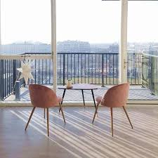 Dining Chairs Soft Seat And Back Velvet Living Room Chairs