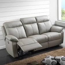 canapé relax électrique 3 places cuir vyctoire achat vente