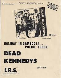 100 Police Truck Dead Kennedys Holiday In Cambodia Single R Flickr