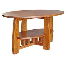 limbert style coffee table woodworking plan from wood magazine