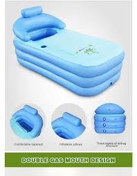dhl spa pvc folding portable plastic bathtub for adults