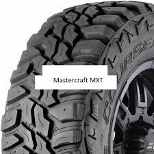 100 Mastercraft Truck Tires 1 New 37X1250R17 MXT Mud Tire 37125017 37 1250 17 1250 R17 MT