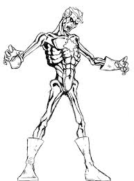 Zombie Coloring Pages Pictures