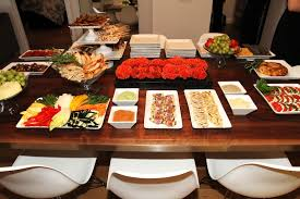 Nice Food Display Going Buffet Style Means Youll Be Able To Spend More