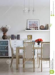 modisches esszimmer stockfoto bild minimalismus
