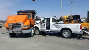 Grand Haven Tribune: Two Trucks Collide At M-104, M-231