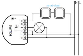 le va et vient micromodule eclairage et va et vient résolue