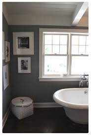 Colors For Bathroom Walls 2013 by Colors Gray And White With Dark Wood Floors Bathroom Via Brown