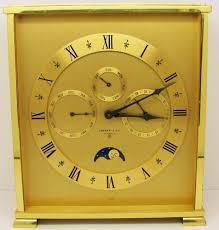 Movado Mini Desk Clock by Tiffany U0026 Co Belle Epoque D U0027ore Bronze Lyre Clock French