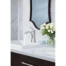 Moen Rothbury Faucet Pricing by Moen 6903 Voss Single Handle High Arc Bathroom Faucet Homeclick Com