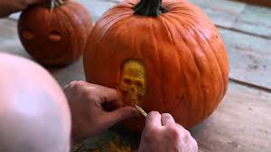 Preserving A Carved Pumpkin by Carving A Pumpkin With The Maniac Pumpkin Carvers Youtube