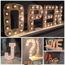Купить Светодиодные лампы Alphabet Letter Lights LED Light Up