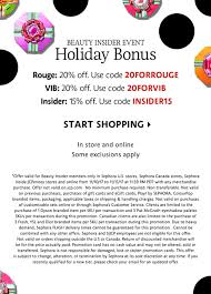 Beauty Insider Event | Holiday Bonus | Rouge 20% Off, VIB 20 ... Sephora Vib Sale Beauty Insider Musthaves Extra Coupon Avis Promo Code Singapore Petplan Pet Insurance Alltop Rss Feed For Beautyalltopcom Promo Code Discounts 10 Off Coupon Members Deals Online Staples Fniture Coupon 2018 Mindberry I Dont Have One How A Tiny Box Applying And Promotions On Ecommerce Websites Feb 2019 Coupons Flat 20 Funwithmum Nexium Cvs Codes New January 2016 Printable Free Shipping Sephora Discount Plush Animals