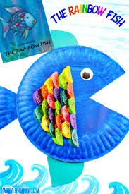 The Cutest Paper Plate Fish Craft Rainbow Activity For Kids Under