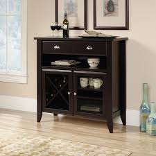Sauder Shoal Creek Desk by Shoal Creek Accent Cabinet U2013 Jamocha Wood The Brick