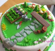 Disney Garden Decor Uk by Gardening Cake For All Your Cake Decorating Supplies Please