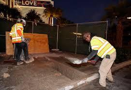 11 Best Bollards Ballards Crash Steel Posts Set To Be Installed Along Las Vegas Starting