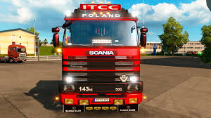 SCANIA 143M Truck + INTERIOR EDIT BY EKUALIZER V3.3 -Euro Truck ...