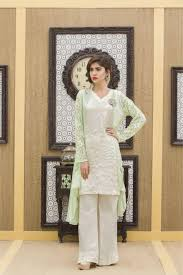 a pista green u0026 off white 2 piece casual dress exclusive online