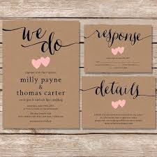 Rustic Wedding Invites With Magnificent Appearance 17