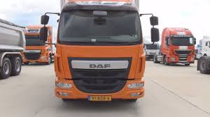 DAF LF 220 Sleeper Cab Lorry Truck Exterior And Interior - YouTube