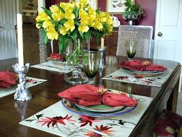 Dinner Table Centerpiece Dining Room Centerpieces With Candles Decor Ideas