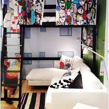 ikea loft bed ideas google search living small pinterest