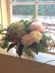 Seasonal Brides Bouquet Wedding Centerpiece