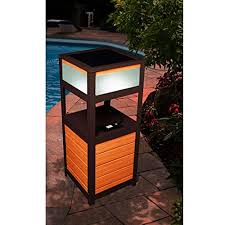 PATIO TABLE with Built in BLUETOOTH SPEAKER Christmas Wishes Gifts
