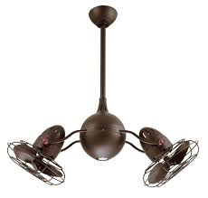 Harbor Breeze Dual Blade Ceiling Fan by Ceiling Glamorous Twin Ceiling Fan Double Ceiling Fans Sale Gyro
