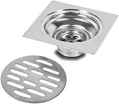 yosoo edelstahl quadrat anti geruch badezimmer boden abfluss abdeckung abfall tor duschablauf style 2