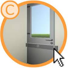 barre securite porte entree porte arrière